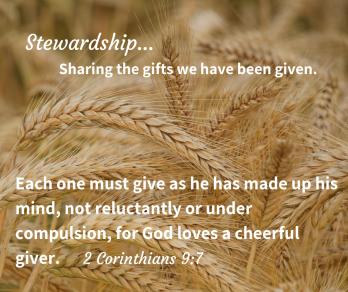 Stewardship...